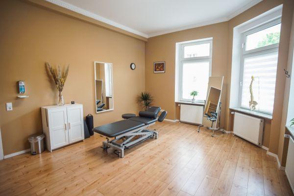 Behandlungsraum Physiotherapie Dortmund