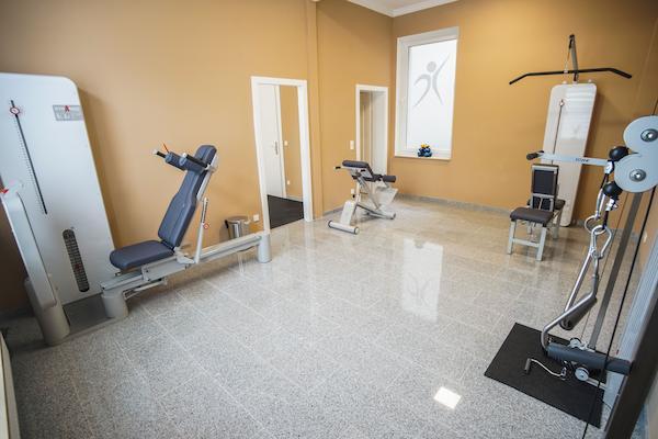 Geräteraum für Physiotherapie